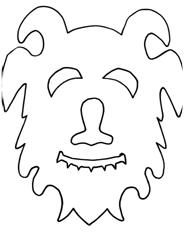Where the Wild Things Are mask templates