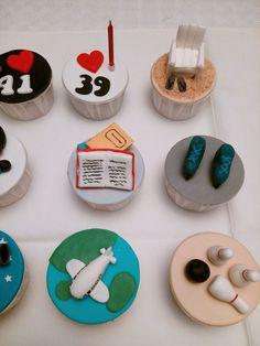 Cupcakes de Hobbies - Pormenores