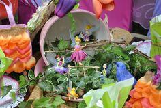 Faerie Playground Faeries, Playground, Tea Party, Plum, Fairy, Table Decorations, Purple, Garden, Plants