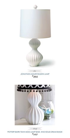 COPY CAT CHIC FIND JONATHAN ADLER NELSON LAMP