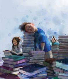 Lisa Aisato Poor Children, I Love Reading, Painting For Kids, Love Art, Kids And Parenting, Illustrators, Good Books, Brave, Lisa