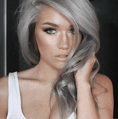 Cheveux gris: 27 Des plus belles coiffures cheveux gris de la saison 2017 en photos