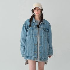 Bae Suzy, Street Style Trends, My Outfit, Ulzzang, Hand Lettering, Fashion Outfits, Denim, Lifestyle, Girls