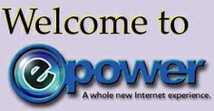 "EBS ePower Logo. --- Chapter 3. Enron Broadband Services Primer. --- The ePower logo appeared on the Enron Broadband website and marketing materials with the slogan, ""A whole new Internet experience.""  --- Image: Enron Broadband Services ePower Logo (2012) / old website / fair use under U.S. copyright law Copyright Law, Chapter 3, Book Images, Marketing Materials, Slogan, Blogging, Internet, Website, Books"