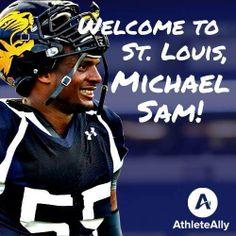 MICHAEL SAM DRAFTED - ST. LOUIS RAMS SATURDAY MAY 10, 2014