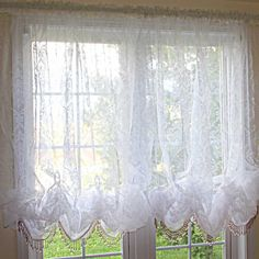 Treatments on pinterest balloon shades diy and crafts and valances