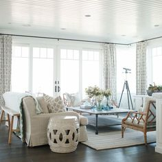 I love thoes sliding glass doors that look like french doors! Marcus Design: Designer Profile | Becki Owens