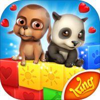 Pet Rescue Saga' van King.com Limited Kindle Games, Ipod Touch, Animal Rescue, Saga, Apps, Clip Art, King, Animal Welfare, App