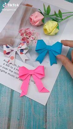 Diy Crafts Hacks, Diy Crafts For Gifts, Diy Arts And Crafts, Creative Crafts, Crafts For Kids, Diy Projects, Diys, Paper Crafts Origami, Origami Art