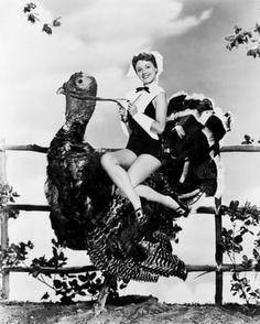 13 Bizarre Vintage Thanksgiving Pinups