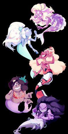 Fusion Mermaids