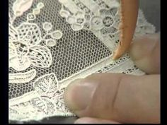 A status symbol and gaudy expression of wealth in the century, all lace was handmade and reserved for wealthy aristocrats. Alençon lace was considered the Queen of Lace. Needle Lace, Bobbin Lace, Sculpture Textile, Drawn Thread, Lacemaking, Point Lace, Embroidery Needles, Linens And Lace, Irish Lace