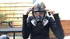 Gas Mask Girl, Respirator Mask, Full Face, Cyberpunk, Girls, Masks, Toddler Girls, Daughters, Maids