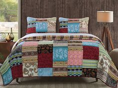 Bohemian Dream- Quilt Set  GREENLAND HOME FASHIONS