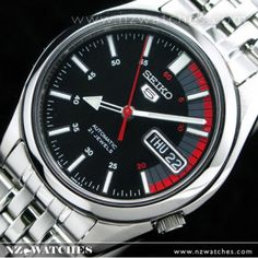 SEIKO 5 Automatic Watch See-thru Back SNK375K1. Nzwatches.com 8d8ff77bd3