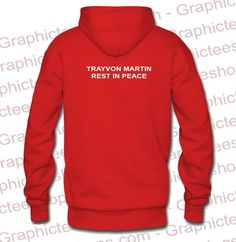 Trayvon Martin Rest In Peace Hoodie