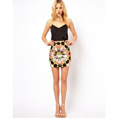Needle & Thread Mexica Mini Skirt
