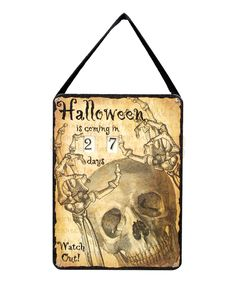primitives by kathy halloween countdown sign - Primitives By Kathy Halloween
