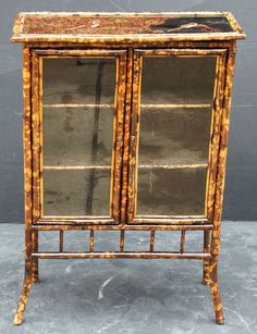 1stdibs | English Bamboo Bookcase