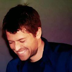 .Love Misha's smile!