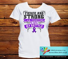 Pancreatic Cancer Fierce and Strong I'm Fighting to Win My Battle
