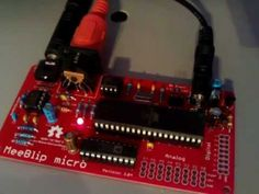 MeeBlip micro does Pac-Man. First time we've seen this!