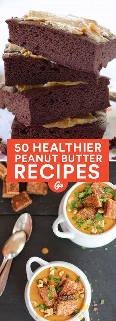 We've put together the ultimate list of healthier sweet and savory peanut butter recipes... #healthy #peanutbutter http://greatist.com/health/healthy-peanut-butter-recipes