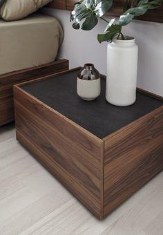 Pool   Mobenia Bedroom Bed Design, Bedroom Furniture Design, Wood Bedroom, Modern Bedroom, Side Tables Bedroom, Wooden Drawers, Bed Table, Diy, Home Decor
