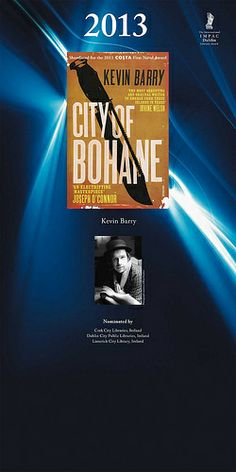 Winner 2013 City of Bohane by Kevin Barry