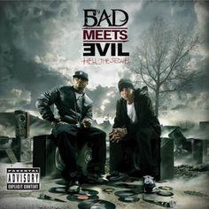 Bad Meets Evil (Eminem + Royce Da - Hell: The Sequel (Artwork) - Mixtape Wall Royce, Slim Shady, Bruno Mars, Hell The Sequel, Sober, Nevada, Eminem Albums, Eminem Songs, Bands
