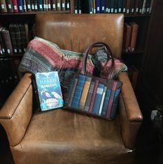 A trip to Gladstone's Library. #gladstones #yoshibags #yoshi #books #bookbag