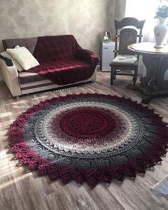 1 million+ Stunning Free Images to Use Anywhere Crochet Mat, Crochet Rug Patterns, Crochet Carpet, Manta Crochet, Crochet Mandala, Crochet Home, Crochet Doilies, Shabby Chic Rug, Rug Yarn