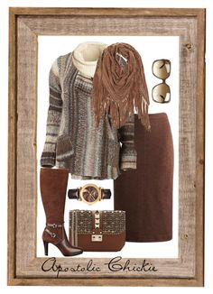 Rustic Winter by apostolicchickie on Polyvore