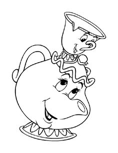 tea cups coloring pages - Google Search
