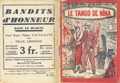 Georges Vallée - M. A. Hullet, Le tango de Nina, Ferenczi Le Petit Roman n°220, n° d'éd. absent, 23 mars 1932. hebdo, 32 pages.