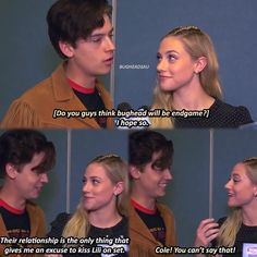 Likes, 72 Comments - riverdale ♛. Riverdale Quotes, Riverdale Funny, Bughead Riverdale, Betty Cooper, Sprouse Bros, Lili Reinhart And Cole Sprouse, Riverdale Characters, Riverdale Cole Sprouse, Betty And Jughead