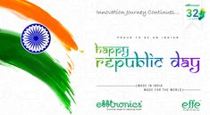 #Efftronics wishing all #Happy #RepublicDay