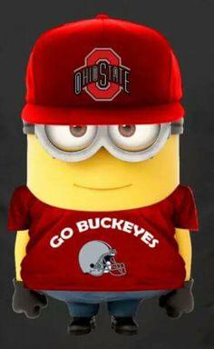 Minion says GO BUCKEYES!!!