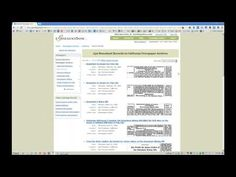 Quick genealogy video tutorial by Kenneth Marks from The Ancestor Hunt that shows how to research newspapers on GenealogyBank.com: http://www.youtube.com/watch?v=oNkeIfF0XLc    #genealogy #ancestors #newspapers #ancestry