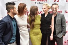 """New Trending Celebrity Looks: The Cast of """"Mr. Robot"""" Turned It Out at the For Your Consideration Screening. We love this cast:   Rami Malek, Grace Gummer, Carly Chaikin, Portia Doubleday and Christian Slater attend a """"Mr. Robot"""" FYC Screening at The Metrograph in New York City.  First, because they do great work and seem to really enjoy working together, and second, because..."""