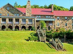 Mountain Lake: Hotel in Pembroke, VA. Dirty Dancing anyone? :) (I would love to go here!! )
