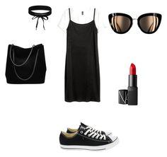 """Trendy"" by camila-radino on Polyvore featuring moda, Converse, Gucci, Boohoo y NARS Cosmetics"