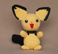 2000 Free Amigurumi Patterns: Pichu crochet pattern