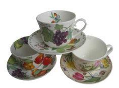 Porcelæns krus og kopper til kaffe & te