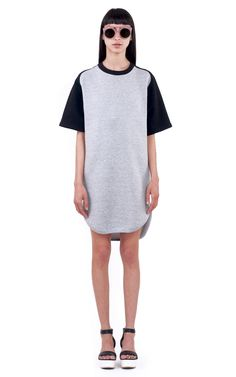 Ioana Ciolacu Official Site featuring ready to wear collections for women. Baseball Dress, Ready To Wear, Crew Neck, High Neck Dress, Spring, Skirts, Sleeves, How To Wear, Dresses