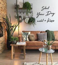 Interior Walls, Living Room Interior, Living Room Decor, Interior Decorating Styles, Home Interior Design, Small Living Rooms, Living Room Designs, Bedroom Wall, Bedroom Decor