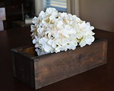 Popular items for wood planter box on Etsy