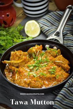 Pre-cooked mutton sauted in special tawa masala to be served hot with roti or naan. Or simply enjoy as a side dish with dal and steamed rice. Halal Recipes, Lamb Recipes, Veg Recipes, Curry Recipes, Indian Food Recipes, Vegetarian Recipes, Cooking Recipes, India Food, India India