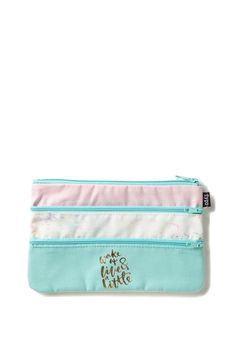 Store your stationery in style the Double Archer Pencil Case. <br> This…