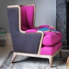 Pink Valentin Armchair